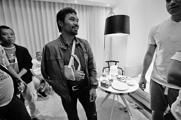 Lawsuit against Pacquiao for failing to disclose shoulder injury