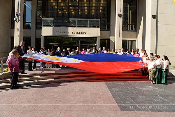MaCCFA celebrates 117th Independence Flag raising at City Hall