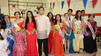 QPAM's 2015 Santacruzan highlights religious tradition with  funfare and colours