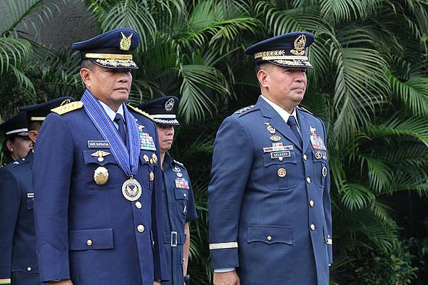 Indonesia Air Force chief visits PH