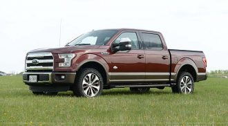 2015 Ford F-150 4×4 King Ranch Edition