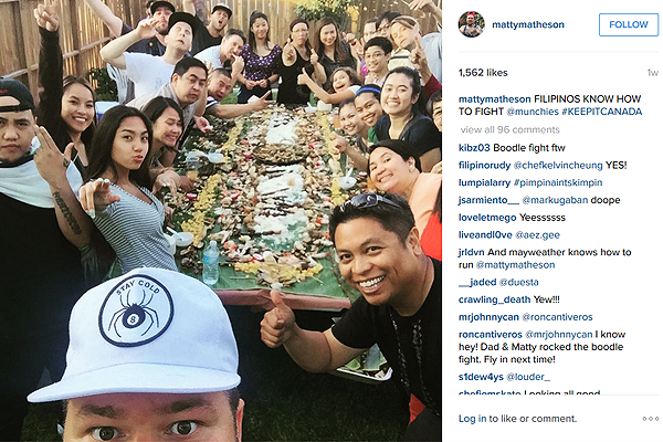 The Best Boodle Fight Was In Our Backyard!