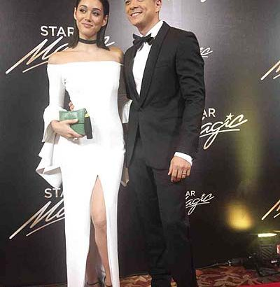 Showbiz couples strut red carpet in 9th Star Magic Ball