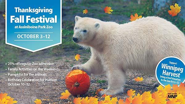 Thanksgiving Fall Festival at Assiniboine Park Zoo
