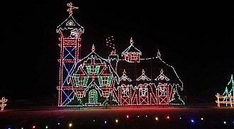 Bright Lights at Canad Inns Winter Wonderland