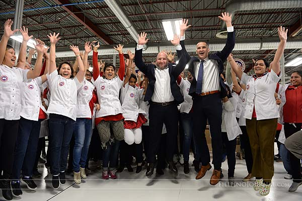 Canada Goose opens second factory in Winnipeg