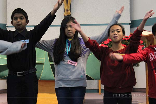 A musical  variety show ignites spirited volunteerism for the new church building for St. Peter's parish