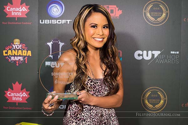 Tiffany Ponce: Songwriter of the Year at the Canadian Urban Television Awards