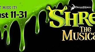 Shrek: The Musical comes to Rainbow Stage, Summer 2016