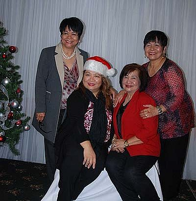 Tess Newton Financial Services hosts Lunch with Santa