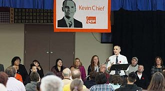 Kevin Chief nominated for Point Douglas