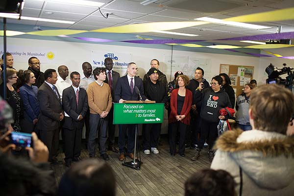 Changes to Rent Assist Shelter Benefit Program Will Help Manitobans  With Low Incomes Access Better Housing, Improve Stability, Secure Jobs:  Minister Chief