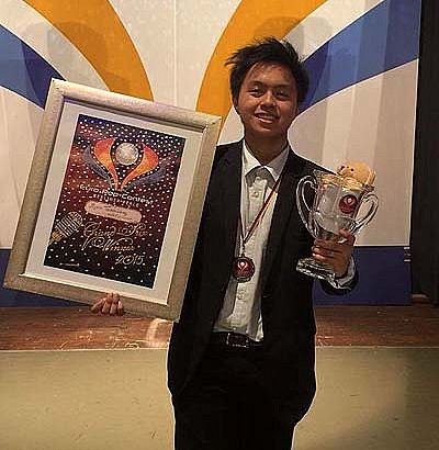 Filipino student wins 2015 Euro Pop Grand Prix