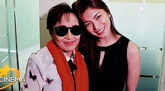 Angel Locsin is with Vilma Santos in new movie