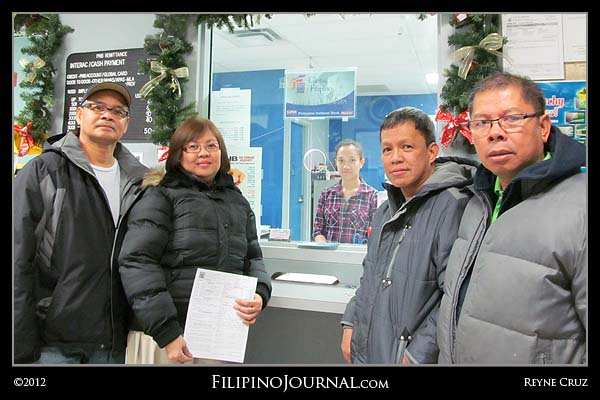 Cash Donation for the Typhoon Sendung Disaster Victims in the Southern Philippines.