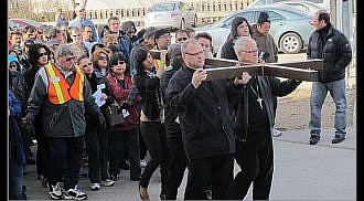 More than 2,000 devotees participate Good Friday's Public Way of the Cross