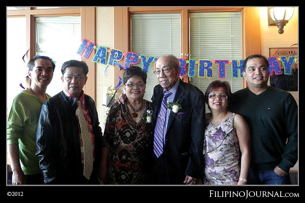 Letty Antonio celebrates her 75th birthday with families and friends
