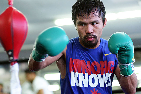 Pacquiao to fight Bradley in April