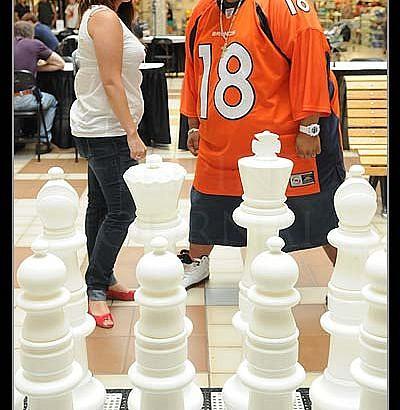 Giant Chess Set Returns to Garden City Shopping Centre