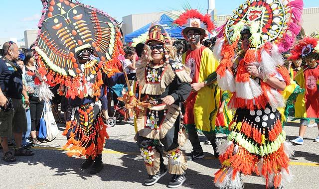 Filipino Celebration on the Streets of Winnipeg - Filipino