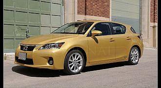 2012 Lexus CT 200h Review