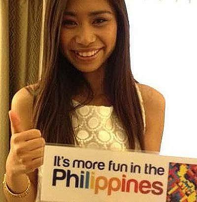 Jessica Sanchez promotes Philippine tourism