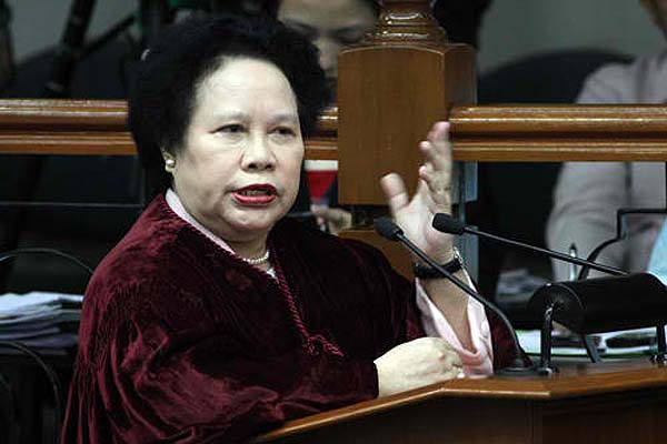 Miriam no longer affected by criticisms