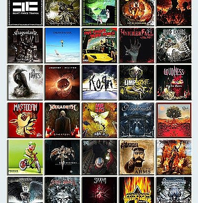 Year-Ender in Music for 2011, part 2: Metal (On 40 New Metal Albums Released This Year)