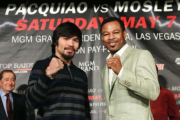Pacquiao considers Mosley too kind for an opponent