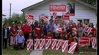 Roldan Sevillano launches campaign for Tyndall Park