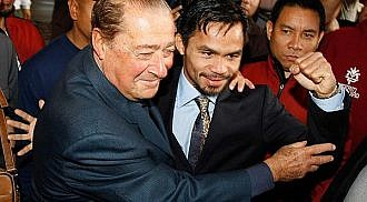 Bob Arum sees a rematch if Mosley upsets Pacquiao
