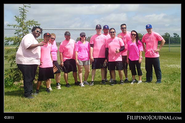 Undefeated! Champions at Batting Against Breast Cancer