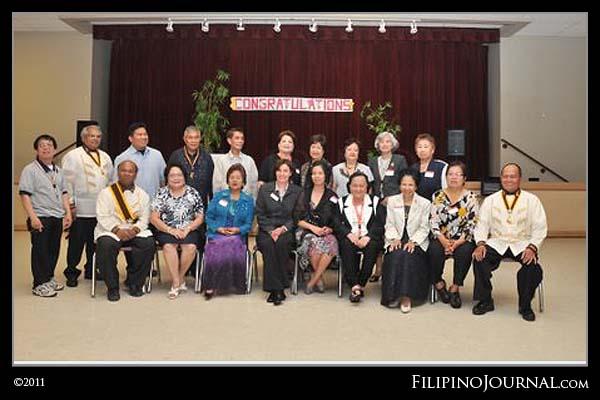 Filipino Peer Helpers Graduation