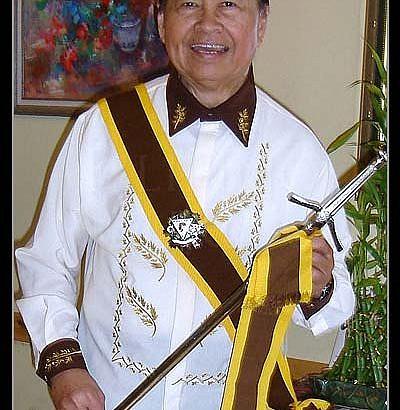 """Rev. Dr. Cornelio """"Neil"""" Gumayon Parado KGOR February 17, 1934 – February 3, 2011"""