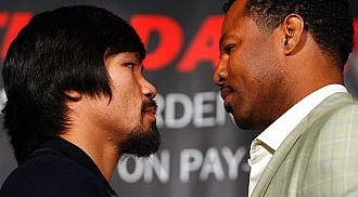 Pacquiao in top form as fight get nears