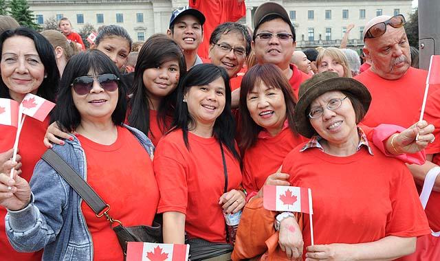 Celebrating Canada's 144th Birthday
