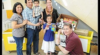 Birthday money donated to Winnipeg Harvest