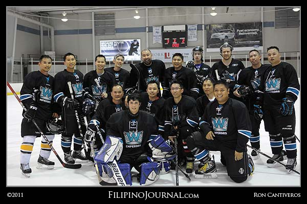 Winnipeg Emperors Debut At The 22nd Asian Hockey Championships In