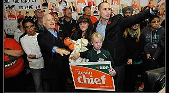 Winnipeg North Votes: Kevin Chief – NDP