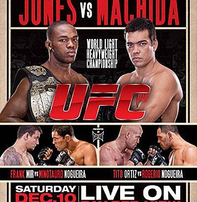 UFC 140: Jones vs Machida