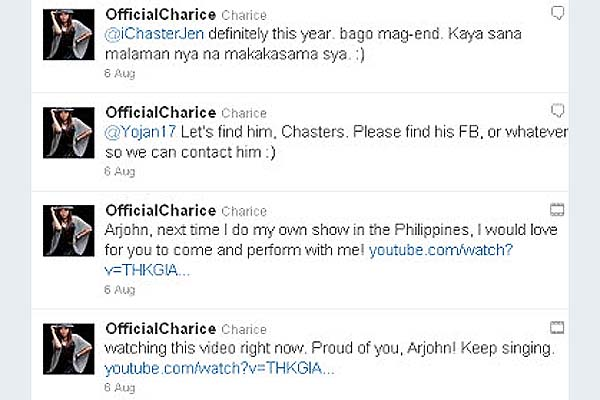 Aeta YouTube star gets invitation from Apl.de.ap, Charice