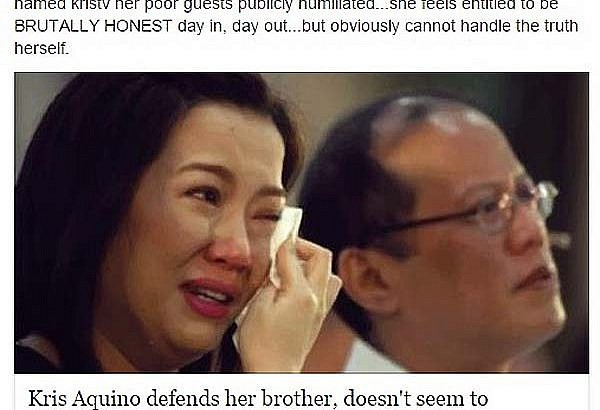 Jerika Ejercito- Kris Aquino is a bully