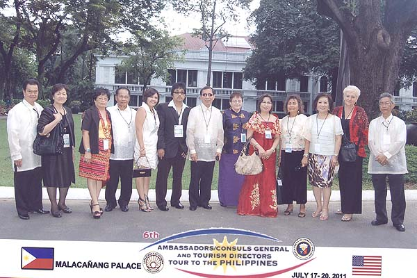 6th AmbassadorsConsuls General and Tourism Directors Tour to the Philippines