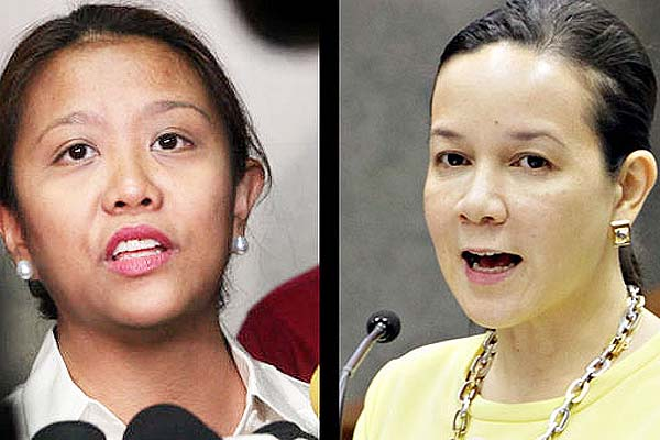 Grace Poe and Nancy Binay not on speaking terms