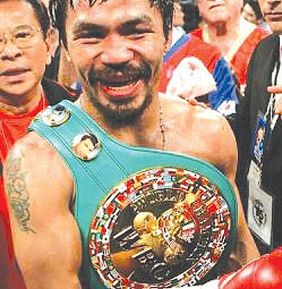 Manny Pacquiao wins his 8th world title