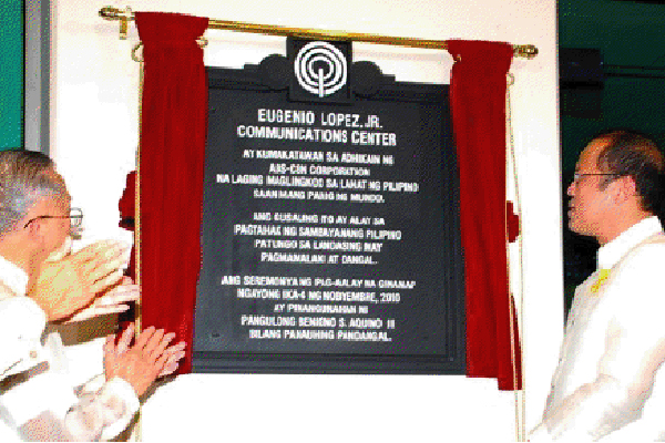 Pnoy Lauds ABS-CBN For Empowering Citizens at ABS-CBN'S Dedication of ELJCC Building