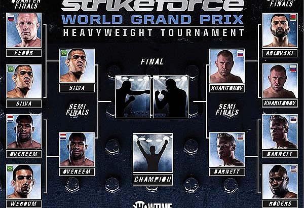 Strikeforce Heavyweight Grand Prix Semifinals