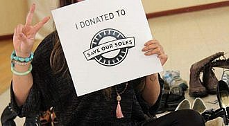 Save Our Soles Shoe Drive Continues