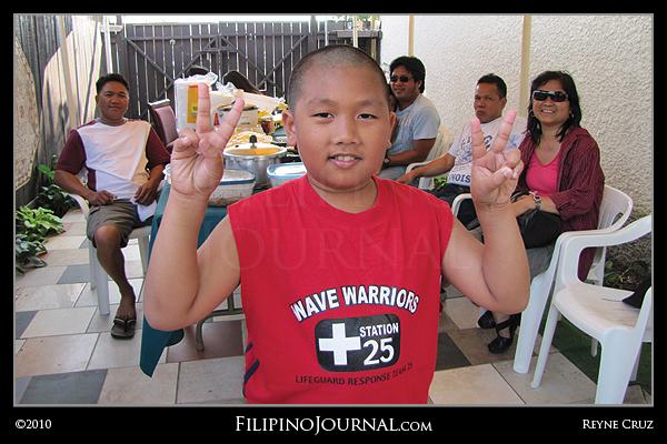Norman Jayson Aquino's 10th Birthday Party, August 1, 2010