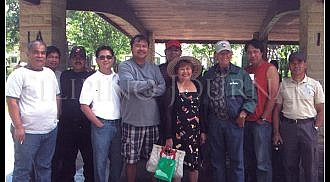 Lupao Nueva Ecija Association of Winnipeg holds picnic at Kildonan Park